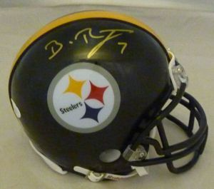 Ben Roethlisberger Autographed Signed Pittsburgh Steelers Black Mini