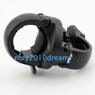 Flashlight Mount Bicycle Led Light Holder Clamp Cycling Torch Clip