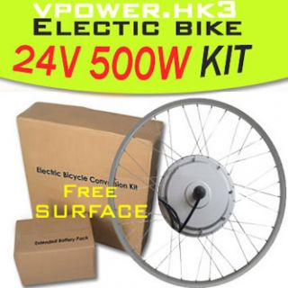 Front Wheel Electric Bicycle Motor Kit E Bike Cycling Conversion Hub