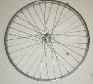 75 Vintage Cruiser Steel Chrome Rear Bicycle Rim Bike Parts JP2