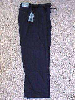 Enrico Bertucci Navy Blue Dress Pants 14 27 x 25