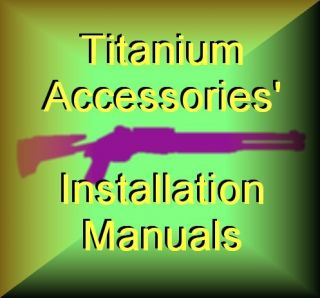Benelli Shotgun Titanium Alloy Parts Manuals