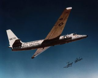 Lockheed F 104 U 2 Starfighter Aviation Test Pilot Autograph Tony
