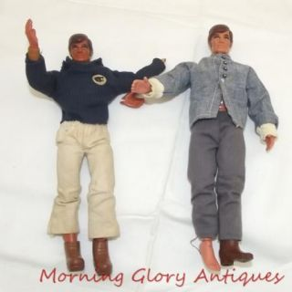 Vintage 1971 Big Jim Action Figures with Moving Arm