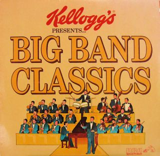 Kelloggs Presents Big Band Classics LP Various 1980