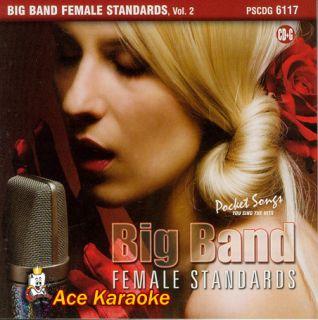 Pocket Karaoke 6117 Big Band Female Standards 2 CDG