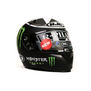 Motorcycle Helmet HJC R PHA10 Ben Spies Monster Replica MC5F L