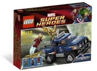 2012 Lego 6867 Lokis Cosmic Cube Escape Marvel Avengers Super Heroes
