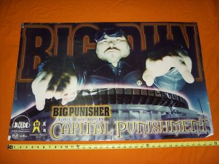 BIG PUN Capital Punishment Poster > Rap Wu Tang Clan Fans Loud Records