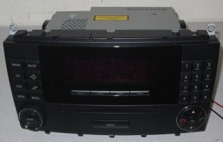 Mercedes Benz MF2741 Radio CD Head Unit   2005 2009 CLK Class 350 500