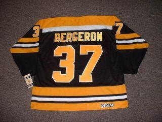 Patrice Bergeron Boston Bruins Vintage Jersey Medium