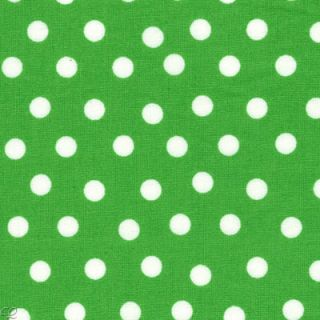 FQ Berenstain Bears Welcome to Bear Country Polka Dots Green Fat