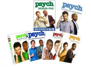 PSYCH DVD SET SEASON 1 6. BRAND NEW FACTORY SEALED