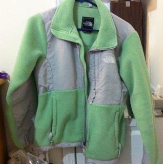 The North Face Womens Denali Fleece Jacket Mint Green Small