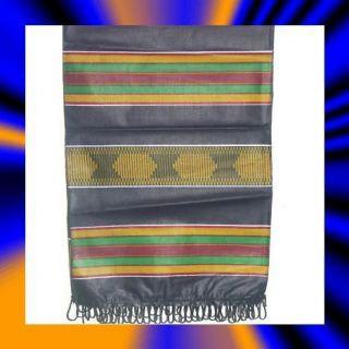 Kente Cloth Scarf Table Runner Sash Fashion Home Decor India
