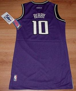 MIKE BIBBY JERSEY DRESS YOUTH LARGE SACRAMENTO KINGS GIRLS NBA