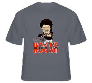 Bernie Kosar Cleveland QB Dawg Pound Brown T Shirt