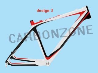 Carbonzone 26er Carbon MTB Frame Mountain Bicycle Bike for 15171921