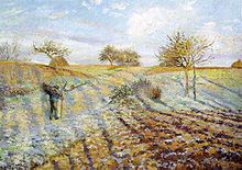 Antique 20s Original Oil Painting Framed Artists Landscape Canvas
