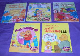 The Berenstain Bears Children Picture Chick Fil A Promo Books Complete