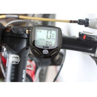 Waterproof Wireless LCD Bike Bicycle Computer Odometer Speedometer