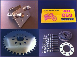 for Motorized Bicycle Gas Bike Custom Parts Moped Motor Sprocket NEW