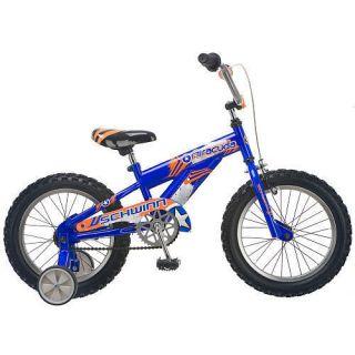 Boys 16 inch Schwinn Training Wheels Ride on Toy Bike Bicycle