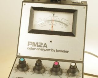 beseler pm 2a colour analyser enlarging meter
