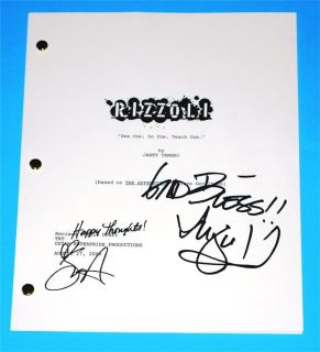 AND & ISLES TV SCRIPT PILOT SIGNED SASHA ALEXANDER AND ANGIE HARMON