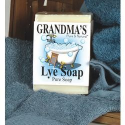 New Grandmas Pure Natural Lye Soap Big Bar 6oz