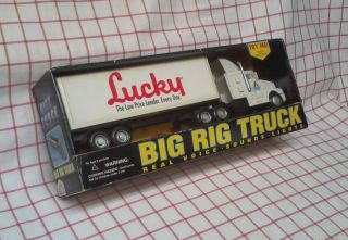 TRUCK BIG RIG real voice sounds lights LUCKY new 1995 FUNRISE