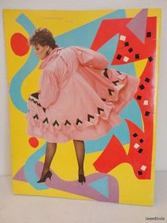 Vintage 1982 BETTE MIDLER DE TOUR Full Color, Large Format CONCERT