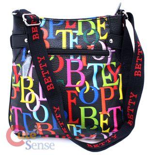 Betty Boop Mini Messenger Bag Shoulder Bag Color Signature 3