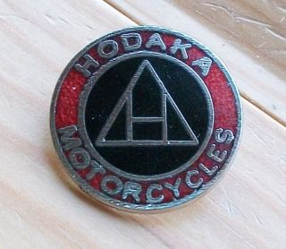 HODAKA pin badge Biker Rocker 59 Cafe Racer motorcycle 60s 70s