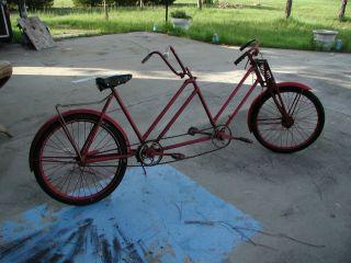 VERY RARE VINTAGE  RIXE  TANDEM BICYCLE BIKE OLD GERMAN MADE