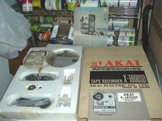 Accessories Kit For An Akai X 1800SD Reel To Reel Tape Recorder With 8