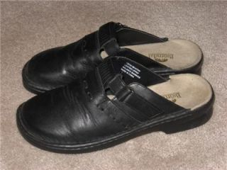 womens bjorndal leather slides shoes sz 7 m
