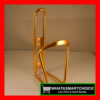 New Gold Aluminum Alloy Bike Bicycle Water Bottle Cage