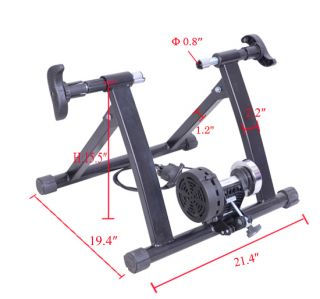 Adjustable Indoor Magnet Bike Bicycle Trainer Stand Stationary Home