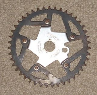 GT Sprocket Chainring Spider 44T BMX Bike Old School Bicycle 44 Tooth
