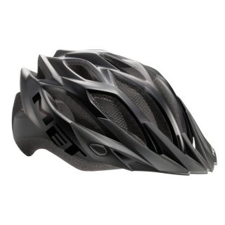 Met Crossover MTB Road Bike Helmet Black XL 60 64cm 2012
