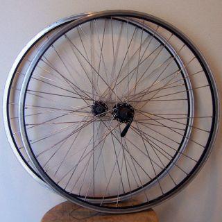 DEMO PAIR* BICYCLE WHEEL QUICK RELEASE RIMS *BARGAIN*