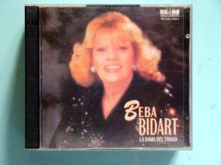 Beba Bidart La Dama Del Tango Argentina CD