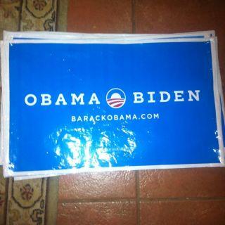 Barack Obama Joe Biden Official 2012 President Sign All Weather Yard