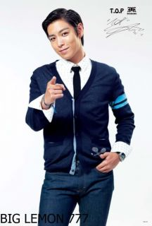 Top T O P in Big Bang Korean Band Poster 2 23 4x34 5
