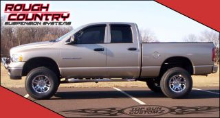 05 Dodge RAM 1500 4x4 Lift Kit w 3 Blocks Bilstein 5100 Shocks