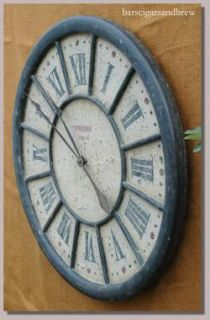 Big Ben Wall Numerals Clock London Wooden Cottage Chic Wall Vintage