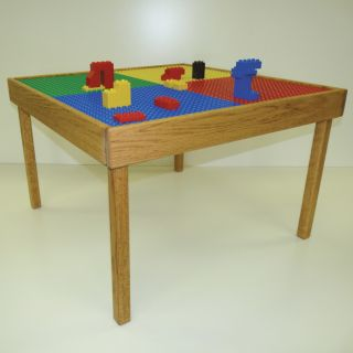 Large Duplo Lego Block Multi Play Kids Play Table New