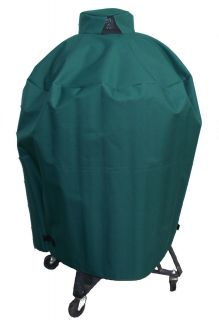 GREEN CUSTOM BIG GREEN EGG BBQ GRILL SMOKER VENTED COVER LARGE Made in