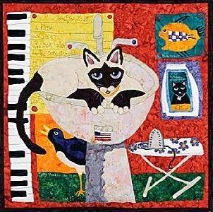 Few of My Favorite Things Cat Bigfork Bay Quilt Pattern